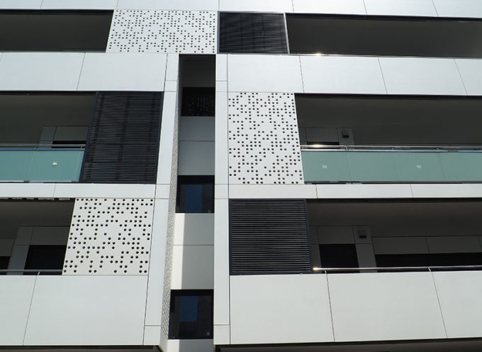 fachada de yeso laminado viviendas